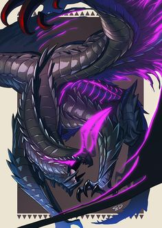 the gore magala. a beast that was hunted to extinction because of what it could do. so what happens when a magala faunus is abused in his earlier years,and wha. Monster Hunter Art, Monster Art, Monster Hunter 4 Ultimate, Creature Concept Art, Creature Design, Fantasy Creatures, Mythical Creatures, Dragon Rey, Character Art