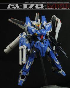 PG RX-178 Gundam Mk-II Conversion