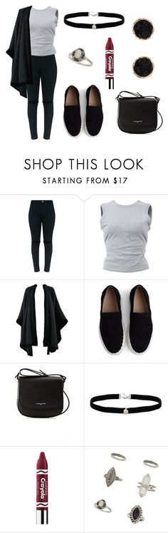 """Untitled #348"" by fashion-with-dudette on Polyvore featuring T By Alexander Wang, Yves Saint Laurent, Chloé, Lancaster, Amanda Rose Collection, Clinique, Miss Selfridge and Humble Chic"