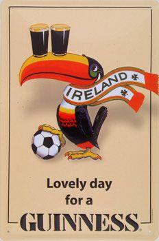 Lovely Day For A Guinness - Guinness Toucan Football Supporter