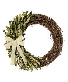 Another great find on #zulily! Sweet Garden Wreath #zulilyfinds