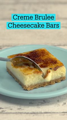 Fun Baking Recipes, Sweet Recipes, Cheesecake Bars, Cheesecake Recipes, Easy Desserts, Dessert Recipes, Tasty, Yummy Food, Snacks