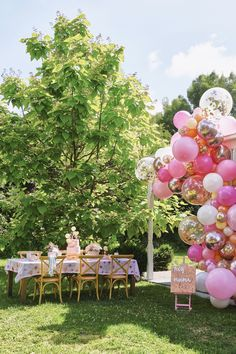 Blossom Balloon Garland
