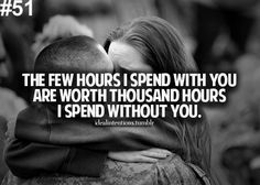 This is something every army husband needs to understand about us wives. May only be a day or a couple hours but it is worth it for us. We would drive as far as we have to for yall