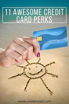 11 Credit Card Perks That Make Life Easier and Way More Fun Credit Card Hacks, Rewards Credit Cards, Best Credit Cards, Ways To Save Money, Money Saving Tips, Saving Ideas, Money Tips, Money Games, Term Life