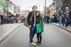 London after-wedding session (Candem Market))