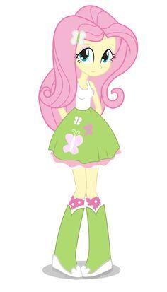 Fluttershy - Equestria Girl by negasun on DeviantArt