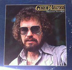 """Gene Watson Vinyl, 1981 """"Old loves never die"""" Country Singers, Country Music, Rhonda Vincent, Gene Watson, Waylon Jennings, Love Never Dies, Old Love, My Music, Album"""