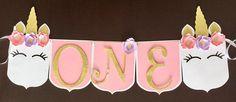 Unicorn Theme Birthday Banner, Baby shower Banner, Unicorn First Birthday, Unicorn Party, Unicorn Theme Party, Bridal Shower, First Birthday