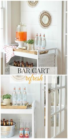 Bar Cart Refresh Wit