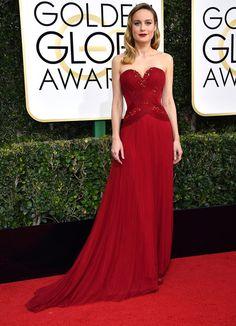 Brie Larson aux Golden Globes 2017
