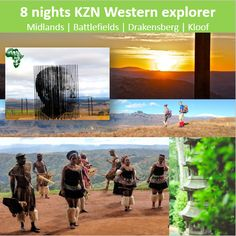 Compassline carefully compiled an itinerary especially for British people visiting our beautiful KwaZulu-Natal province. This itinerary explores the western part of of province, with glimpses in to the Zulu culture, an Anglo-Zulu Battlefield, some hiking in the world heritage site and finally ending off for some down time at the sea!! This is perfect for small groups of FIT travellers. British People, Kwazulu Natal, World Heritage Sites, Small Groups, Be Perfect, Westerns, Places To Go, Southern, Africa