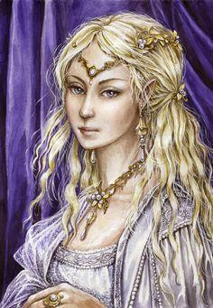 Galadriel, the Lady of Lorien by ~edarlein on deviantART