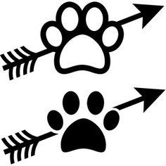 Download Dog monogram svg, Love dog svg, Paw svg, Circle Monoram ...
