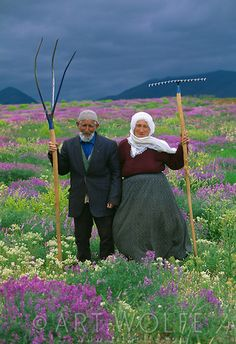 Farmers, Eastern Taurus Mountains, Turkey  Natural farmers caring for their planet by farming naturally....