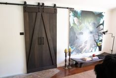 Black Stains, Wood And Metal, Barn, Victorian, Doors, Converted Barn, Barns, Shed, Sheds