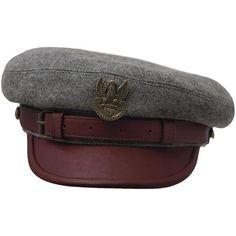 8e40713ca811c LEGION MACIEJOWKA REPLICA - Jozef Pilsudski Polish Rifleman Historical Wool  Cloth Leather Bill Cap Collectible Military Headgear Large Size