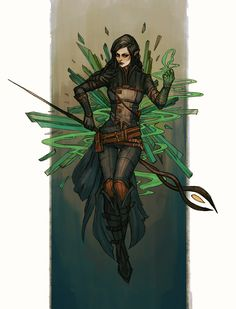 find this pin and more on fantasy character art Dnd Characters, Fantasy Characters, Female Characters, Character Concept, Character Art, Concept Art, Character Ideas, Fantasy Inspiration, Character Inspiration