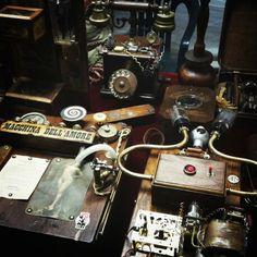 #Steampunk #machine #laboratory #invention