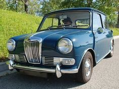 1966 Riley Elf MkII, very novel, with real walnut interior. A touch of class