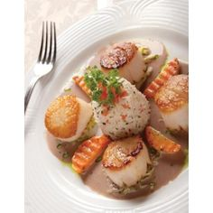 Scallops cooked to perfection at The Refectory in Columbus Ohio