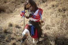Kabaneri of the Iron Fortress mumei Stiefel Schuhe shoes boots Kostüm Cosplay