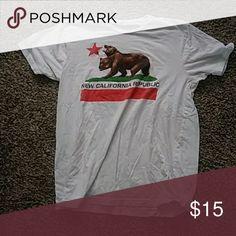 Fallout Shirt New California Republic Fallout shirt. Size L. Good condition. Hot Topic Tops Tees - Short Sleeve