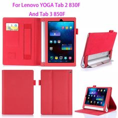 Luxury Leather Case For Lenovo yoga tablet 2 Cover For Lenovo yoga tab 3 inch Case Hands Holder Funda Innovation, Yoga Fashion, Leather Case, Hands, Luxury, Cover, Stuff To Buy, Tablet Cases, Design