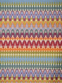 "Eye Candy Jewel.  Chenille accent tapestry fabric from Valdese Weavers. Amazing upholstery fabric for statement furniture pieces. 9"" repeat. 50% rayon, 18% cotton, 32% poly. 58"" wide. Made in U.S.A."