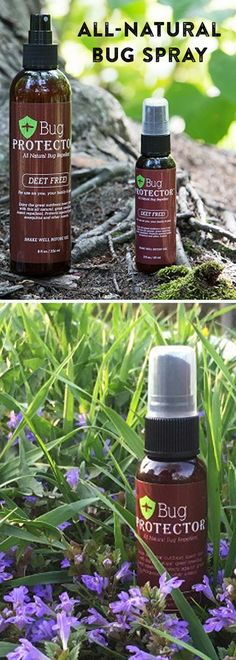 This all-natural bug spray has a scent that's refreshing to us, but repellant to bugs. It combines lemongrass, geranium, peppermint, and cinnamon oil to keep bugs alive but at bay.