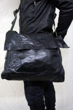 Visions of the Future: Zam Barrett | Buffalo Leather Polis Bag.