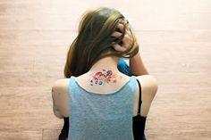 15 Beautifully Feminine Floral Tattoos