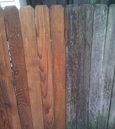 """""""Did wonders for my old fence, its been great so far!"""" - Dave K. Tiny Waist Workout, Old Fences, Texture, Surface Finish, Pattern"""