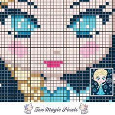 Mini Elsa C2C Crochet Graph | Craftsy