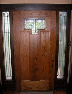 The commissions of Thomas Eddy Tallmadge, an architect of the Prairie School of Architecture. Art Nouveau, Art Deco, Chicago School, Prairie School, Oak Trim, School Doors, Fair Oaks, Oak Park, House Doors