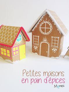 Fabriquer une maison de pain d'épices en carton ! Un joli Diy de Noël
