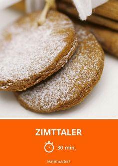 Zimttaler - smarter - Zeit: 30 Min. | eatsmarter.de