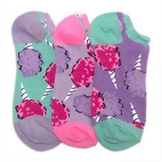 Girls' Socks | Cotton Candy Smelly Liner Socks
