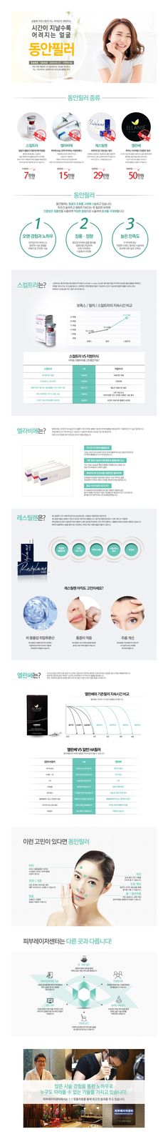 피부과 서브페이지 디자인 - subpage design for dermatology web site