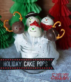 Holiday Cake Pop DIY