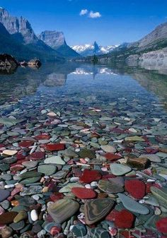 St. Mary Lake in Glacier National Park, Montana