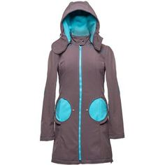 Liliputi® Babywearing Mama Coat - Grey-turquoise