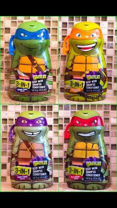Teenage Mutant Ninja Turtles Bath, Shampoo & Conditioners