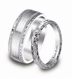 Alianzas y anillos de compromiso de platino. ¿Cuál es tu favorito? [Fotos]