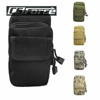 Outdoor Molle Accessory Pouch Multifunction Hunting Mini Waist Bags Military Tactical Men Mini Pocket Camping Hiking Bag 5 Color
