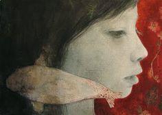 Paintings by Tifenn Python