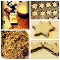 Zimtsterne mit SteviaZucker - http://www.frozen-testet.com/2013/11/zimtsterne-mit-stevia-zucker.html