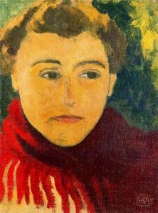 Woman in a Red Shawl - Aristide Maillol - The Athenaeum