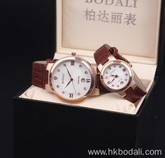 High quality sapphire leather watch. Select a special watch for your very special lover!
