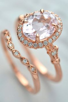 "18 Beautiful Rose Gold Engagement Rings We have collected the best ideas of rose gold engagement rings that will help say ""will you marry me?"" Visit our gallery to choose your ideal option. http://glaminati.com/beautiful-rose-gold-engagement-rings/"